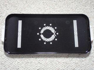 Vintage Tappan Stove Gas Burner Cover Tray Enamelware Porcelain Enamel