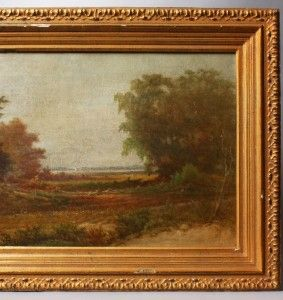 River School Landscape Frederick Debourg Richards Oil Painting