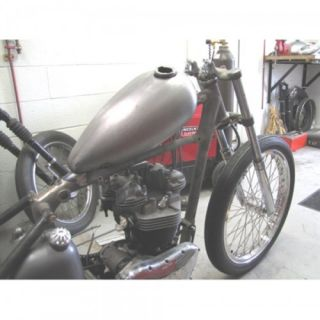 Skinny Narrow Alien Chopper Motorcycle Gas Fuel Tank