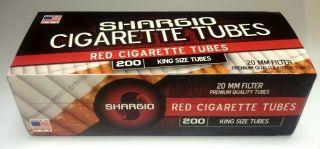 Shargio Full Flavor Cigarette Tubes 10 Boxes