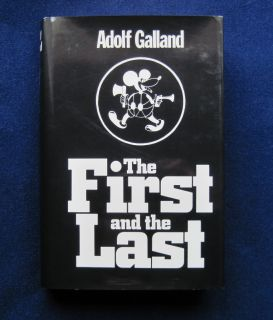 WWII German Air Fighter History Signed Adolf Galland