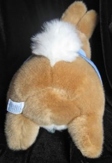 Eden Peter Rabbit Potter Plush Carrot Blue Jacket 14
