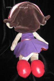 Little Einsteins June Plush Stuffed Doll Disney Parks Disneyland