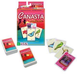 New Deluxe Canasta Caliente Card Game Revised Version