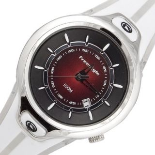 FREESTYLE Minx Ladies New Analog Round Watch White Rubber Band