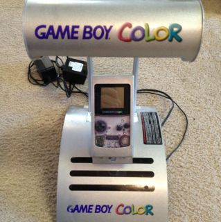 Game Boy Color Kiosk Store Display Nintendo