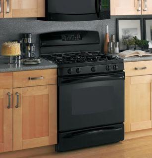 GE Profile Black 30 Free Standing Dual Fuel Range, w/warming drawer