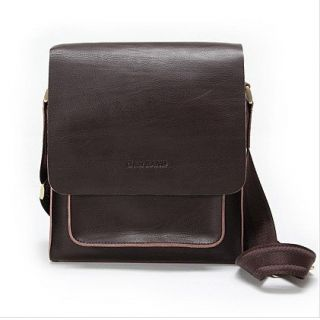 gear band leather messenger bag