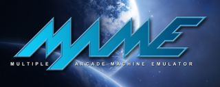 MAME Video Arcade Game Cabinet Sticker   Blue Planet   10 Games Decal