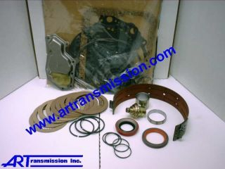 Transmission Parts Rebuild Kit w Steels Ford C4 70 81