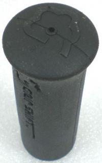 SHIFT 3/4 Black Universal Rubber Hand Grips Tool Garden Handlebar