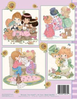 Precious Moments Counted Cross Stitch Charts Book Blessed Friends PM74