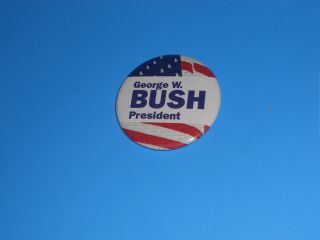 George H W Bush 1988 Presidential Campaign 2 1 4 Pinback Button 1