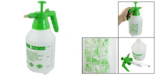 Green Handle Plastic Water Sprayer Bottle Garden Tool 1500ML