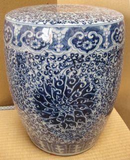 Chinese High Fire Ceramic Porcelain Barrel Garden Seat