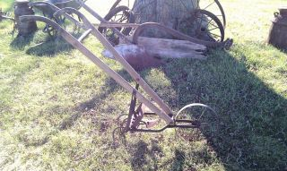 American Fork Hoe Cultivator Tiller Garden Tool Push Plow