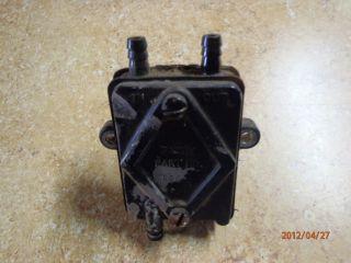 John Deere 318 Garden Tractor Fuel Pump Onan