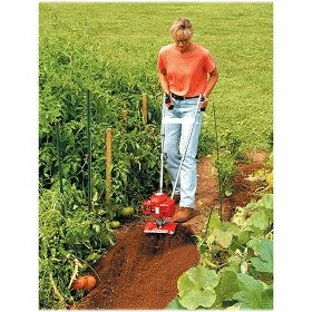 Mantis Garden Tiller Cultivator Mini Roto 2 Cycle New