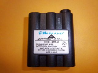New Midland BATT5R Rechargeable Battery for FRS GMRS Radios Ships Free