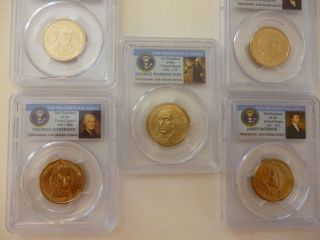 2007  P GEORGE WASHINGTON FIRST DAY ISSUE +4 MORE PRESIDENTS