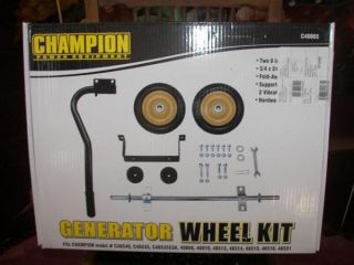 Champion Generator Wheel And Handle Kit # 40065 Make Your Unit Easy To