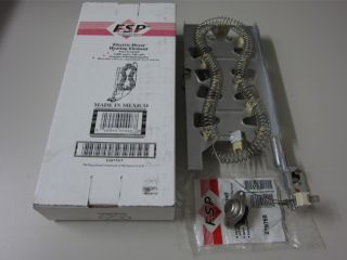 Combo Whirlpool Genuine FSP Heater Element 3387747 279769 Kit (3390291