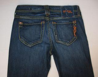 Genetic Denim Recessive Gene Boot Cut Stretch Jeans Nitrogen Dark