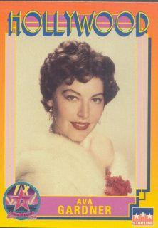 Ava Gardner 1992 Hollywood Walk of Fame Card 242
