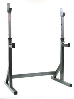 New Adjusable Power Srengh Leg Press Squa Rack Cage