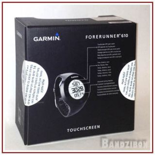 Garmin Forerunner 610 GPS Women Mens Sports Watches for Runners