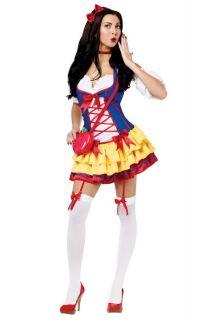 Snow White One Bad Apple Dress Adult Halloween Costume 122204