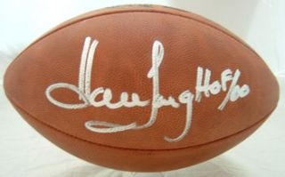 Howie Long Autographed Signed Oakland Raiders Official NFL Football w