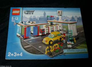 LEGO CITY SET NUMBER 7993 GAS STATION INSTRUCTIONS BOOKLET REPLACEMENT