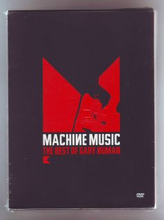 GARY NUMAN VERY LIMITED 3000 BRAND NEW MACHINE MUSIC ULTIMATE DVD