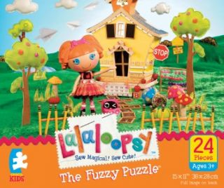 Lalaloopsy The Fuzzy Puzzle Friends Sew Magical Sew Cute Set of 3