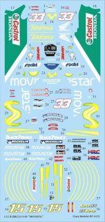 Decal 1 12 Movistar Honda Sete Gibernau Marco Melandri Simoncelli