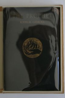Very RARE First Edition 1923 of Kahlil Gibrans The Prophet