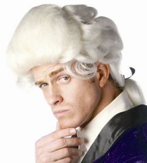George Washington Colonial Adult Halloween Costume Wig