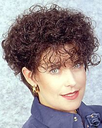Georgie Indy 501   Short n Curly Human Hair Wig