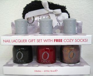 ORLY HAPPY HOLIDAYS 4 Pc Nail Polish Gift Set Androgynie Cherie