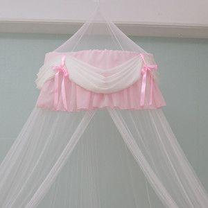 Chiffon Shirring Bed Canopy Net Tape Hook Mosquito Net New