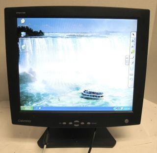 Gateway FPD1730 17 inch Flat Panel LCD Monitor Display VGA 260C