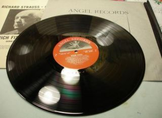 Gerald Moore Richard Strauss Songs Ang 35600 Vinyl 33LP Angel