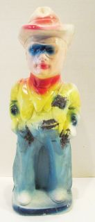The Lone Ranger 1940s Carnival Chalk Chalkware Statue 15 Western