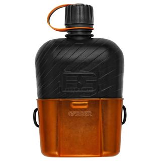 Gerber Bear Grylls Survival Water Bottle Canteen with Cooking Cup   31