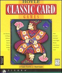Hoyle Classic Card Games PC CD Eurchre War Crazy 8s Solitaire Bridge