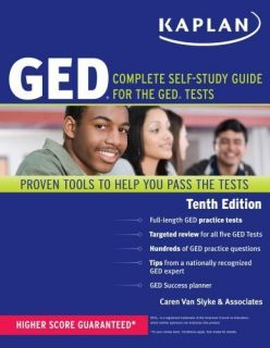 Kaplan GED Complete Self Study Guide for The GED Tests