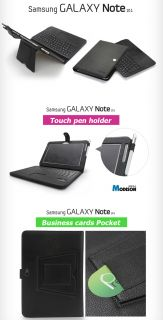 Bluetooth Keyboard Touch Pad Case for Samsung Galaxy Note 10 1
