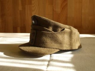 Enlisted Officer Mountain Troops Gendarme Horthy Wool Cap size 58
