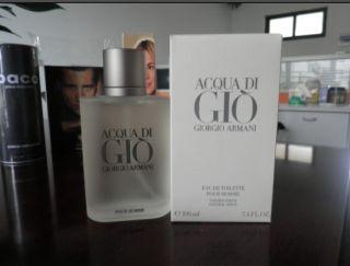 Giorgio Armani Acqua Di Gio 3.4oz Mens Eau de Toilette NIB Authentic